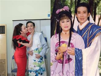 Nhật Kim Anh công khai hôn nghệ sĩ Vũ Linh, tiết lộ từng ao ước cưới đàn anh làm chồng