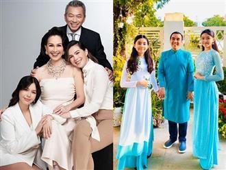 Những gia đình nghệ sĩ Việt hạnh phúc sinh con một bề là gái