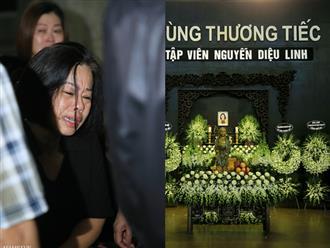 Những hình ảnh đầu tiên trong tang lễ của nữ MC Diệu Linh, người mẹ liên tục khóc vì sự ra đi của cô con gái còn quá trẻ