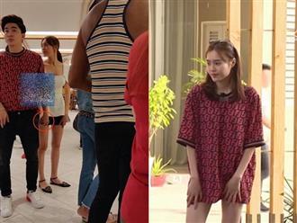 Ninh Dương Lan Ngọc mặc áo của 'bạn trai tin đồn' Chi Dân khi quay 'Chạy đi chờ chi'?