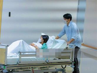 Nóng: Đông Nhi đã vào phòng sinh chuẩn bị đón con gái đầu lòng, lộ hình ảnh đầu tiên tại bệnh viện