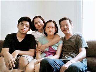NSƯT Trung Anh hiếm hoi 'phá lệ' đăng ảnh gia đình trong 'Ngày của cha'