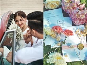 """Nữ chính """"Ghét thì yêu thôi"""" Phanh Lee tiết lộ ảnh cưới nhưng vẫn quyết tâm giữ kín danh tính chú rể"""