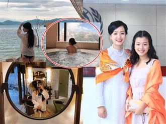 Ở tuổi 15, con gái NSƯT Chiều Xuân khoe dáng nuột với bikini hút mắt, xinh đẹp khó cưỡng