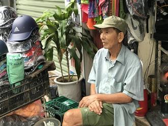 Ở tuổi 89, NSƯT Trần Hạnh ngồi bán mũ bảo hiểm, giày dép mưu sinh