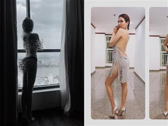 Pha Lê gây 'bão' dư luận với hình ảnh lột trần cơ thể, khoe thân nhạy cảm bên cửa sổ