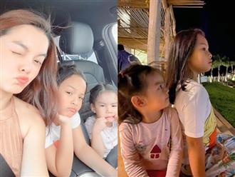 Cuối năm, Phạm Quỳnh Anh rưng rưng khi 2 con đều về ăn Tết với chồng cũ Quang Huy