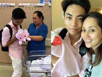 Phan Hiển xúc động đón con gái về nhà sau 3 tuần cách ly, Khánh Thi tiết lộ điều bất ngờ