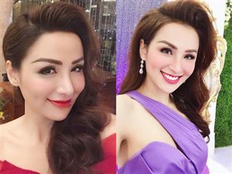 Phản ứng của Hoa hậu Diễm Hương khi được mời tiếp khách 2 tiếng với giá gần 1 tỉ đồng