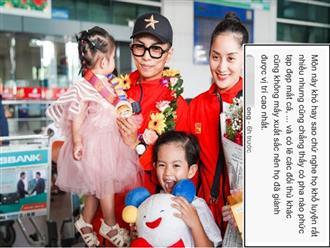 Phản ứng của Khánh Thi và Phan Hiển khi phần thi giành HCV tại SEA Games bị chê bai