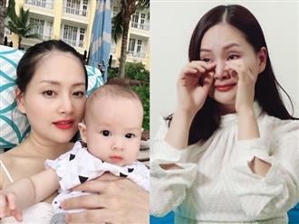 Phản ứng cực thông minh của Lan Phương khi bị chỉ trích chưa cưới đã có con với chồng Tây