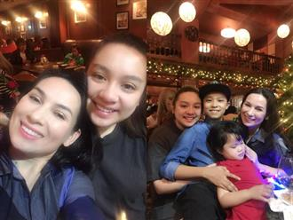 Sau nhiều năm định cư tại Mỹ, con gái ruột Phi Nhung lần đầu về quê hương đón Giáng sinh ấm áp bên mẹ
