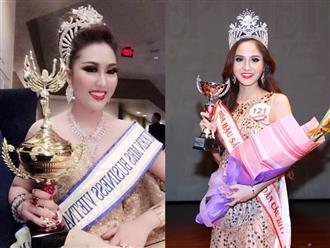 Vương miện hoa hậu Phi Thanh Vân vừa giành được vướng nghi án hàng nhái sản xuất đại trà