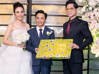 """Phía Ngọc Sơn nói gì về món quà """"gây bão"""" trong đám cưới Cường Đô La?"""
