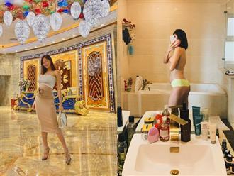 """Mang thai 6 tháng vẫn đi giày cao gót cao """"chót vót"""", Phương Mai khiến dân tình trầm trồ vì thân hình gợi cảm không hề giống bà bầu"""