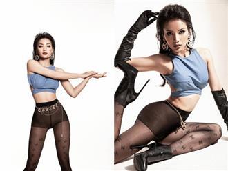 Phương Trinh Jolie gây 'nhức nhối' khi diện quần tất xuyên thấu 'như có như không' chụp ảnh