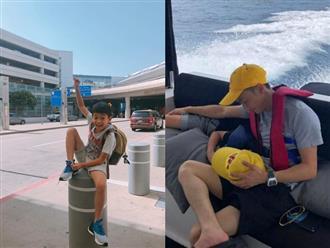 Lâu lắm Hồ Ngọc Hà mới khoe con trai, Subeo ngày càng đẹp trai và ra dáng 'thanh niên' chững chạc