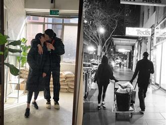 Rocker Nguyễn công khai ảnh hôn bạn gái sau tin đồn yêu Hoàng Thùy