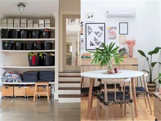 Rộng 180 mét vuông, đây là căn hộ điển hình cho sự tinh tế được xây dựng trên một ngân sách hạn hẹp