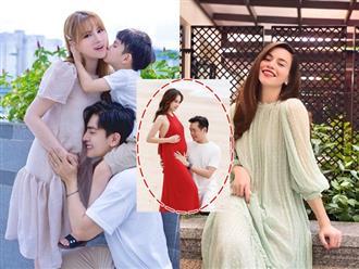 Sao Vbiz đồng loạt chúc mừng tin vui vợ chồng Dương Khắc Linh: Động thái của hội mẹ bầu Hà Hồ, Thu Thuỷ gây chú ý!