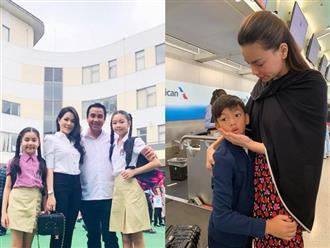 Sao Việt mạnh tay chi tiền tỷ mỗi năm cho con học trường quốc tế
