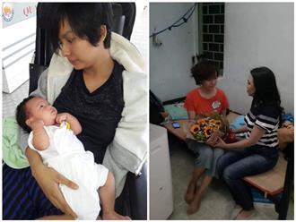 Sao Việt xót xa cảnh diễn viên 9X bị liệt nửa người, xuất huyết não sau sinh, 2 con nheo nhóc