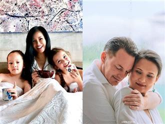 Sắp sinh, vợ đại gia của chồng cũ Hồng Nhung làm điều bất ngờ cho 2 con riêng của chồng