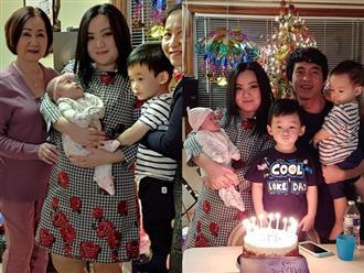 Sau 3 năm kết hôn, 'Con cò bé bé' Xuân Mai bất ngờ sinh con thứ 3 tại Mỹ