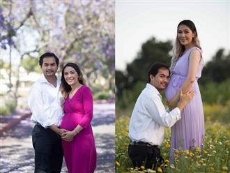 Sau 10 năm cưới với hành trình dài 'tìm con', vợ Đức Tiến khoe bụng bầu trong niềm hạnh phúc