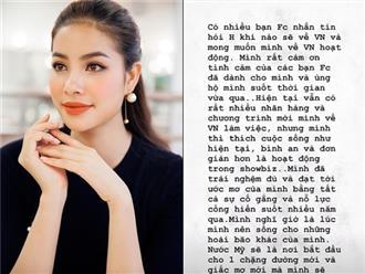 """Sau khi bị """"bóc phốt"""" kém tiếng Anh, Phạm Hương giải thích lý do không muốn về VN"""