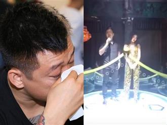 Sau khi khóc nức nở vì bị hủy show, Tuấn Hưng đến bar hát với Lệ Quyên