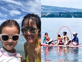 Sau ly hôn chồng Tây, Hồng Nhung lần đầu diện bikini khoe thân hình nóng bỏng