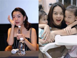 Sau ly hôn, Phạm Quỳnh Anh thừa nhận 'làm mẹ thật khó', nhất là khi hai con bệnh cùng lúc