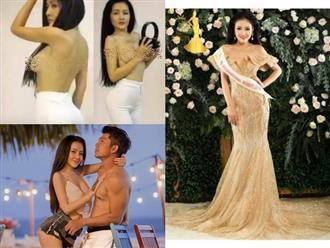 Sau màn khoe ngực 'bất chấp', Ngân 98 tự tin đi thi Hoa hậu