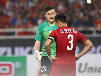 Sau tất cả, Quế Ngọc Hải và Đặng Văn Lâm lại về với nhau trong một khoảnh khắc xúc động khi giành ngôi vô địch