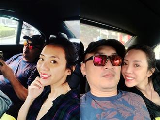 Sau tin đồn rạn nứt tình cảm, Thu Trang - Tiến Luật khoe ảnh 'tình bể bình' bên nhau