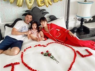Siêu mẫu Hà Anh tiết lộ bí quyết hạnh phúc sau 4 năm kết hôn