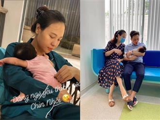 Sinh con chưa lâu, vợ Cường Đô la từng chán nản và bế tắc cực độ vì vấn đề này