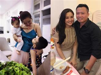 Chê chồng 'xây dựng khô queo', Vy Oanh vỡ òa với món quà của ông xã trong ngày sinh nhật
