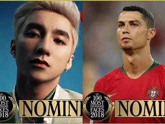 Sơn Tùng M-TP lọt đề cử '100 Gương mặt đẹp trai nhất năm 2018' cùng Ronaldo