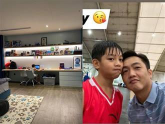 Sống cùng mẹ Hà Hồ, Subeo vẫn được ba Cường chuẩn bị phòng 'sang xịn' ở nhà riêng, nhìn mà choáng