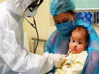 Sức khỏe cháu bé 1 tuổi nhiễm Covid-19 ở Hải Dương hiện nay ra sao?