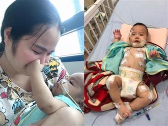 Gần 1 tháng sau ca phẫu thuật 4 tỷ đồng, sức khỏe con trai ca sĩ Minh Hiền giờ ra sao?