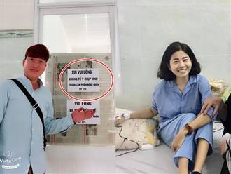 Sỹ Luân vui mừng tiết lộ bệnh ung thư của Mai Phương có tiến triển tốt, không phải hóa trị nữa
