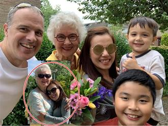 Tái hôn với chồng Tây khi đã có con riêng, Lý Thanh Thảo khoe được mẹ chồng thương như con ruột