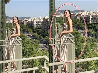 Tăng Thanh Hà khiến dân tình hoang mang khi lộ vòng 1 'siêu phẳng', thân hình 'mỏng như tờ giấy'