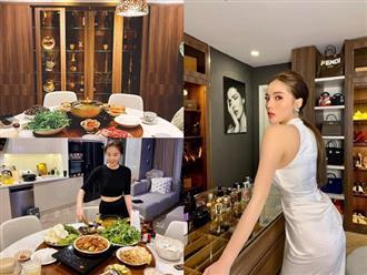 """Thăm căn hộ của Hoa hậu Kỳ Duyên: Phòng đồ hiệu """"toàn mùi tiền"""" khiến chị em ghen tỵ đỏ mắt"""