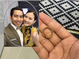 Hơn 1 tháng ly hôn, Thanh Bình bất ngờ chia sẻ lạ kèm chiếc nhẫn cưới trên tay?