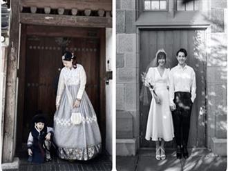 Sau màn cãi cọ với dân mạng về chuyện Thanh Bình, Ngọc Lan cùng con trai có động thái cực đáng yêu ở Hàn Quốc