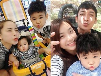 Sau khi sinh con với Thành Đạt, Hải Băng vô tư nói về gia đình và con riêng của chồng